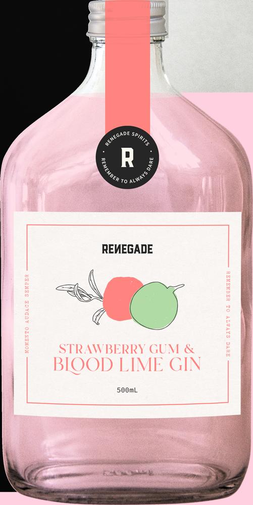 Renegade Spirits Australian Strawberry Gum Blood Lime Gin
